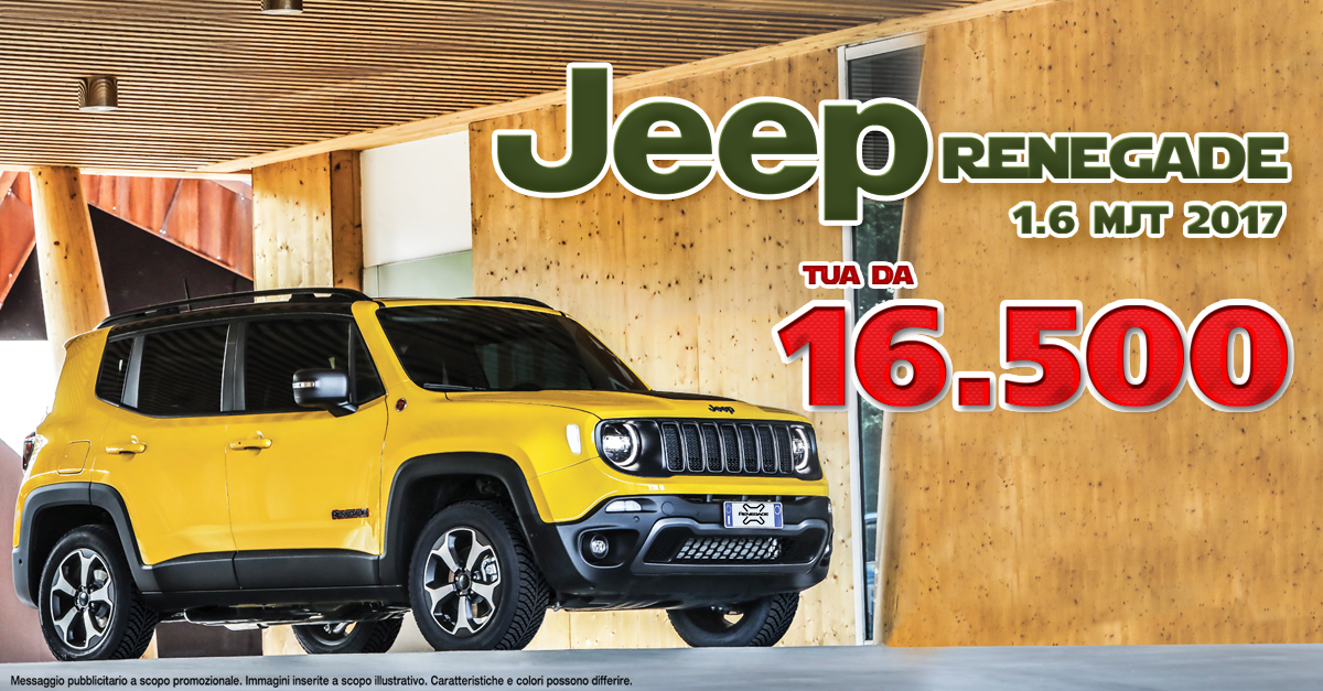 Jeep Renegade  1.6mjt 2017